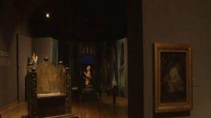 """Detall de l'exposició """"La Girona medieval"""", al Museu d'Història de la Ciutat, a Girona."""