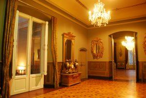 Detall interior del Palau Moja, a Barcelona (Foto: Pere Noguer).