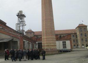 A la colònia industrial de Borgonyà (Foto: Mateu Butinyà).