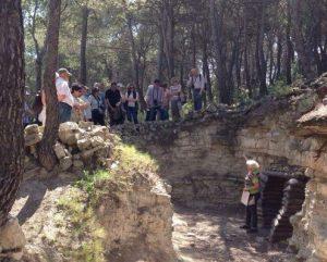 A les Trinxeres de les Devees, a la Fatarella (Foto: Anna Freixa).