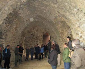A l'interior del castell de Montsoriu (Foto: Mateu Butinyà).